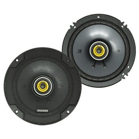 "Kicker CSC654, CS Series 6.5"" Coaxial Speakers (46CSC654)"