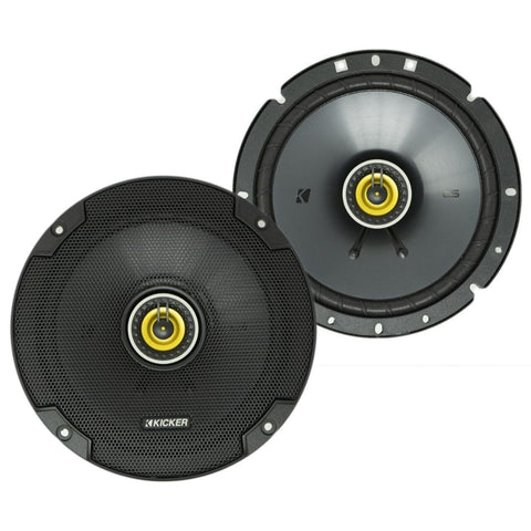 "Kicker CSC674, CS Series 6.75"" Coaxial Speakers (46CSC674)"