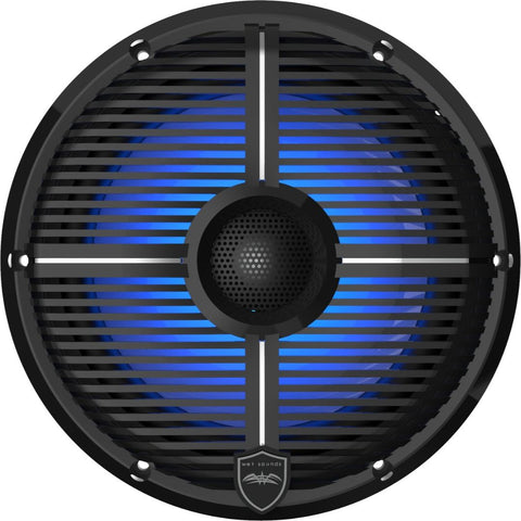 "Wet Sounds REVO 8-XWB, XW 8"" Coaxial Speakers - Black"