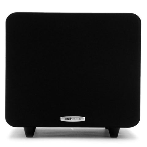 "Polk Audio PSW111, Ultra Compact 8"" Powered Subwoofer - 150 Watts"