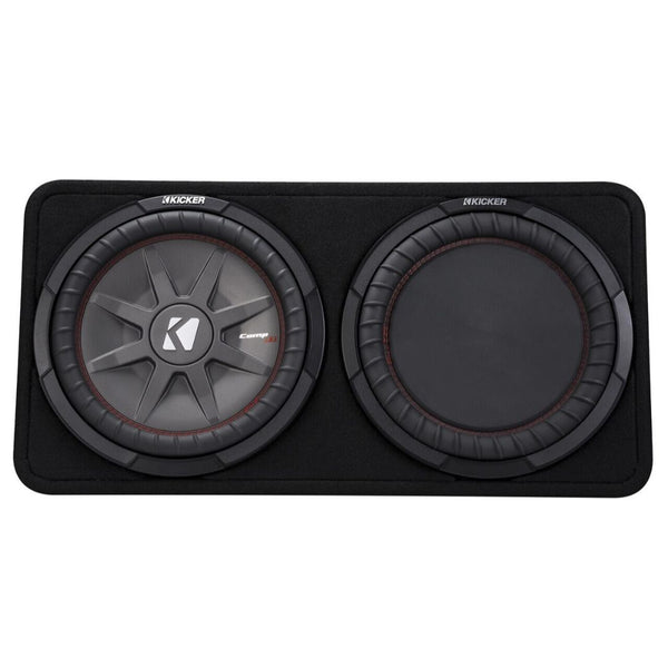 "Kicker TCWRT122, CompRT 12"" Subwoofer in Thin Profile Enclosure, 2-Ohm, 500W (43TCWRT122)"