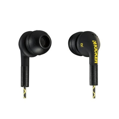 Kicker EB74, EB74 In-Ear Monitors, Black (46EB74)