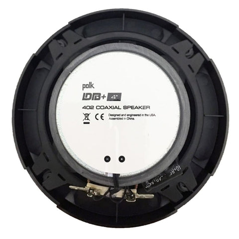 "Polk Audio DB402, DB+ 4"" Series Coaxial Car / Marine / UTV / ATV Speakers"
