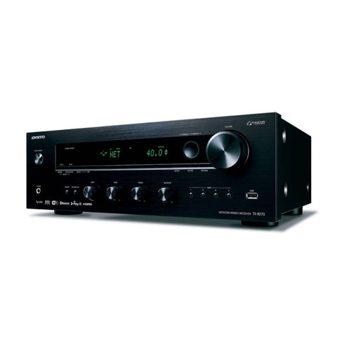 Onkyo TX-8270, Stereo Receiver with HDMI connections, Wi-Fi, Bluetooth, and Chromecast Built-In