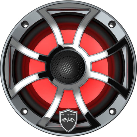 "Wet Sounds REVO 6-XSG-SS, XS 6.5"" Coaxial Marine Speakers - Gunmetal"