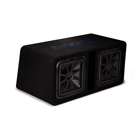 "Kicker DL7S122, Dual L7S 12"" Subwoofers in Vented Enclosure, 2-Ohm, 1500W (44DL7S122)"