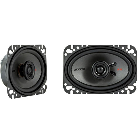 "Kicker KSC4604, KS Series 4x6"" Coaxial Speakers (44KSC4604)"