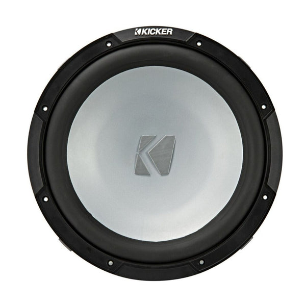 "Kicker KM122, KM Series 12"" Weather-Proof Subwoofer for Enclosures, 2-Ohm, 250W (45KM122)"
