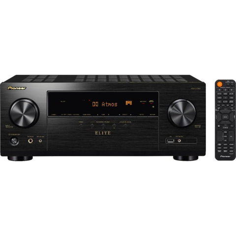 Pioneer Elite VSX-LX104, Elite 7.2 Channel Bluetooth Capable with Dolby Atmos 4K Ultra HD HDR Compatible A/V Home Theater Receiver