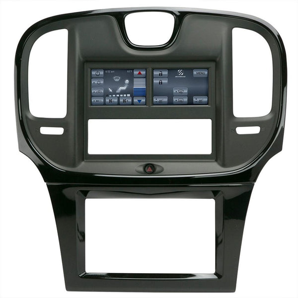 Scosche ITCCR01B, Integrated Touch 2015-Up Chrysler 300 Dash Kit (Matte Black)