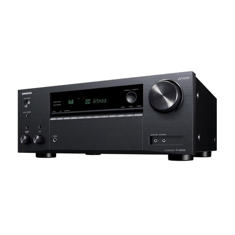 Onkyo TX-NR595, 7.2 Channel Home Theather Receiver with Wi-Fi, Bluetooth, and Apple AirPlay 2