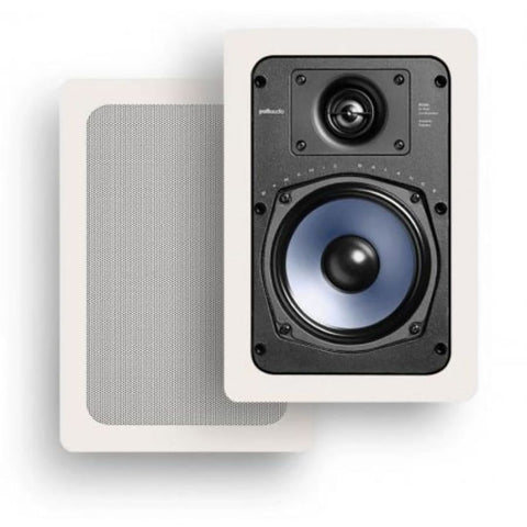 "Polk Audio RC55i, 5.25"" In-Wall Home Speakers"