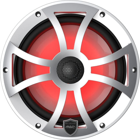 "Wet Sounds REVO 8-XSS, XS 8"" Coaxial Speakers - Silver"