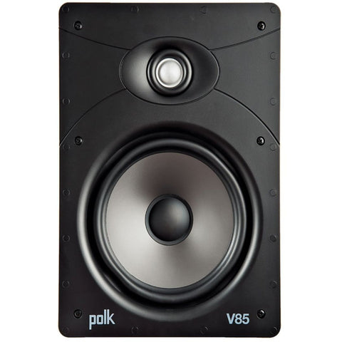 "Polk Audio V85, Vanishing V Series 8"" High-Performance In-Wall Speaker"