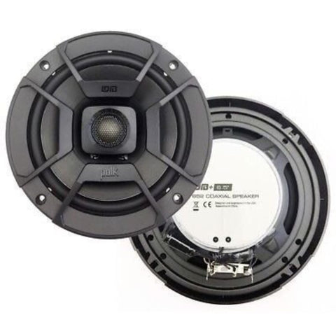 "Polk Audio DB652, DB+ 6.5"" Series Coaxial Car / Marine / UTV / ATV Speakers"