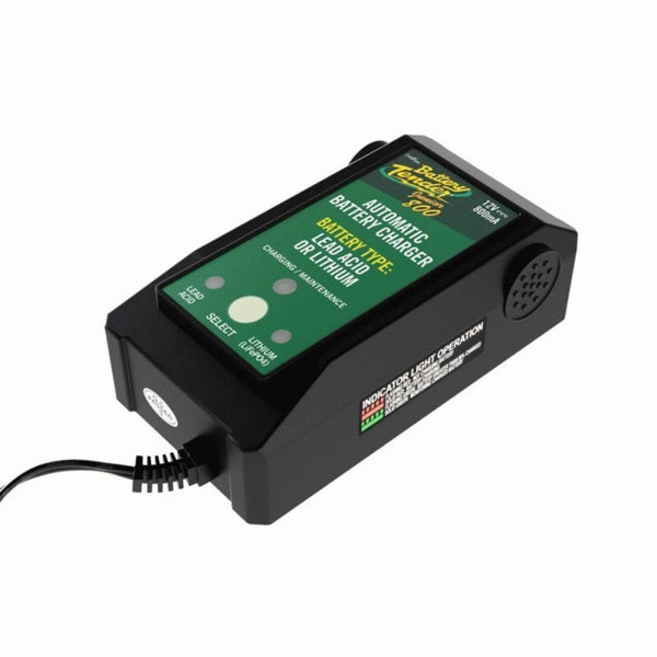 Shuriken 22-0199-DL-WH, 12V 800mA Lithium Battery Charger
