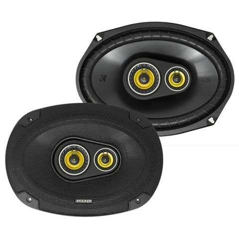 "Kicker CSC6934, CS Series 6x9"" 3-Way Speakers (46CSC6934)"