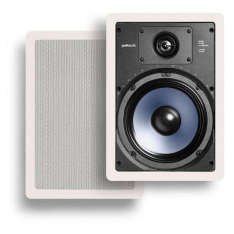 "Polk Audio RC85i, 8"" In-Wall Home Speakers"