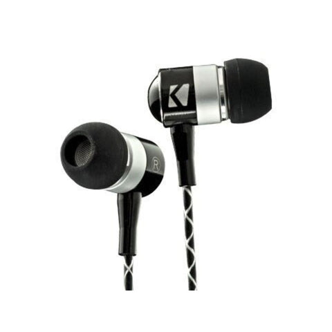 Kicker EB54, EB54 In-Ear Monitors, Black (46EB54)