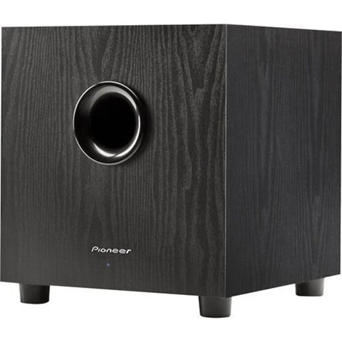 "Pioneer SW-8MK2, 8"" Andrew Jones Designed 100-Watt Powered Subwoofer"