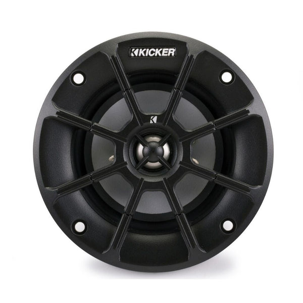 "Kicker PS42, PS Series 4"" PowerSports Weather-Proof Coaxial Speakers, 2-Ohm (40PS42)"