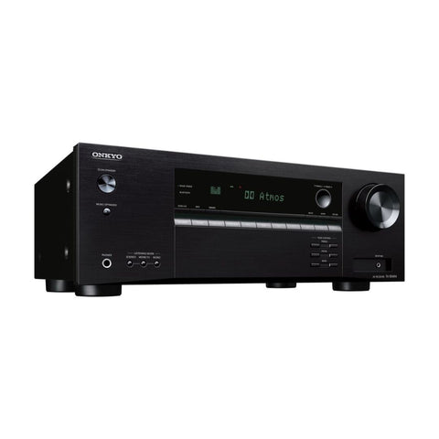 Onkyo TX-SR494, TX 5.2 Channel with Dolby Atmos 4K Ultra HD HDR Compatible A/V Home Theater ReceiverÊ