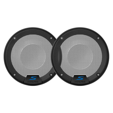 "Alpine KTE-S50G, 5.25"" Speaker Grilles for Alpine S-S50"
