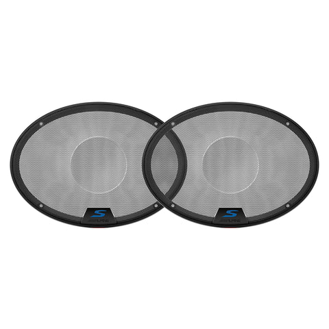 "Alpine KTE-S69G, 6x9"" Speaker Grilles for Alpine S-S69 and S-S69C"
