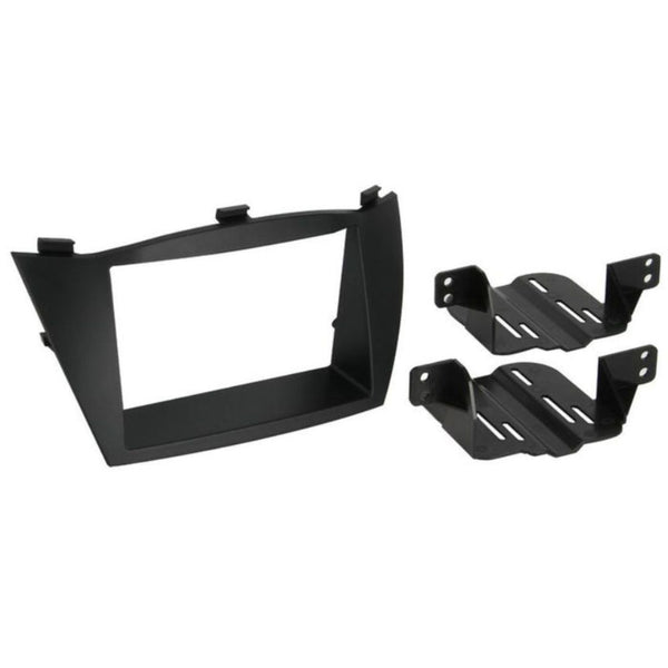 Scosche HY1627B, 2010-Up Hyundai Tucson ISO Double DIN & DIN+Pocket Kit