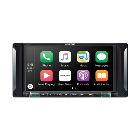 "Alpine i207-WRA, 7"" Restyle Multimedia System for Jeep® Wrangler JK"