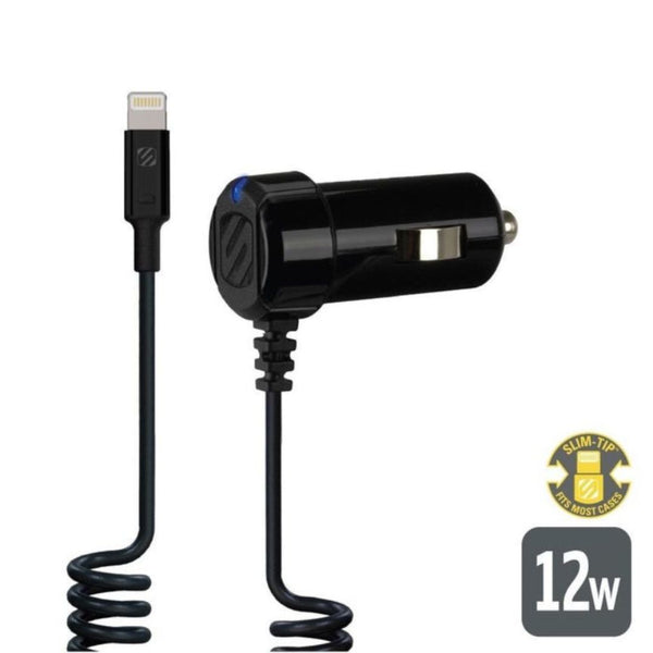 Scosche I2C12A, Lightning Car Charger 12W 2.4A