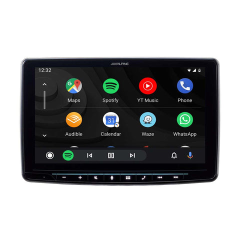 "Alpine iLX-F309, Halo9 9"" Digital Media Receiver, Apple CarPlay Android Auto"