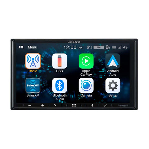 "Alpine iLX-W650, 7"" Double Din Digital Media Receiver, CarPlay / Android Auto"