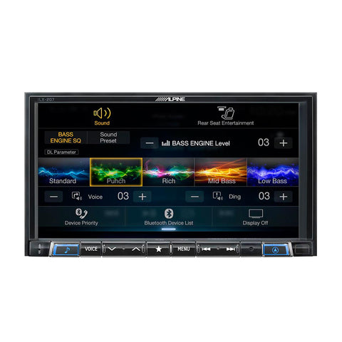 "Alpine iLX-207, 7"" Double-Din Digital Media Receiver, CarPlay &  Android Auto"