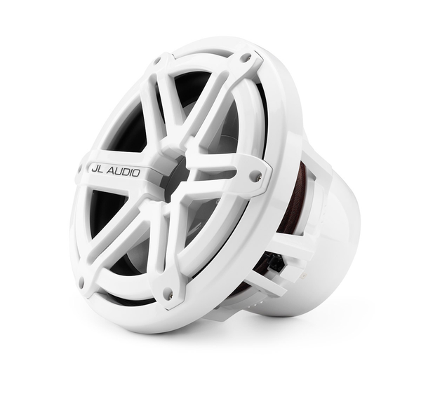 "JL Audio M10IB5-SG-WH, M Series Marine 10"" 4-Ohm Subwoofer, Infinite Baffle, White Sport Grille, 250W"