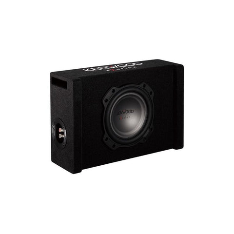 "Kenwood P-XW804B, eXcelon Single 8"" Downfire Ported Subwoofer Enclosure, 900W"