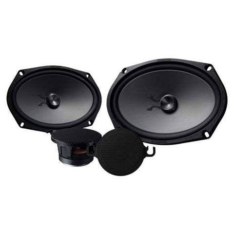 "Kenwood KFC-XP6902C, eXcelon 6x9"" 2-Way Shallow Woofer Component Car Speaker System w/ 2-3/4"" Mid Range, 300W"