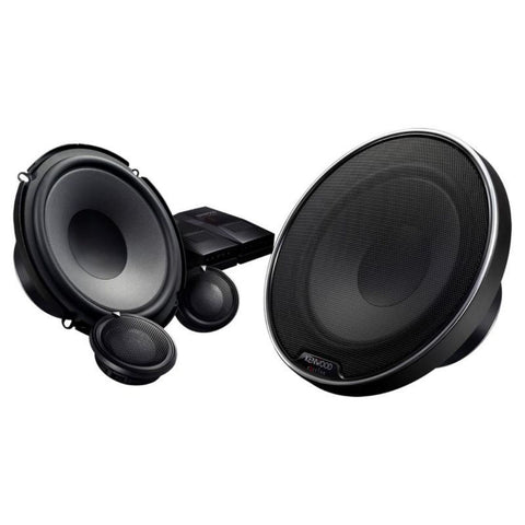 "Kenwood XR-1700P, eXcelon XR Series 6.5"" Woofer 2 Way Component Speaker System, 280W"