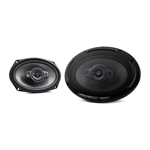 "Kenwood KFC-D691, Dynamic Series 6x9"" 4-Way Full Range Car Speakers, 600W"