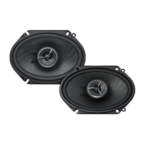"Kenwood KFC-X683C, eXcelon 6x8"" 2-Way Coaxial Car Speakers, 180W"