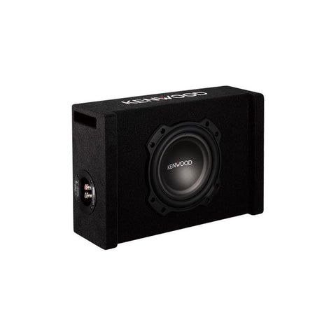 "Kenwood P-W804B, 8"" Loaded Subwoofer w/ Ported Enclosure - 900W"