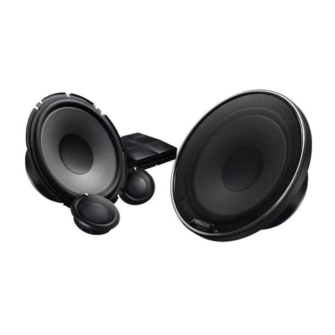 "Kenwood XR-1800P, eXcelon XR Series 7"" Oversized Woofer 2 Way Component Speaker System, 330W"