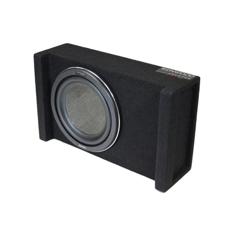 "Kenwood P-XW1001B, eXcelon Single 10"" Downfire Loaded Subwoofer Enclosure, 1000W"
