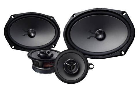"Kenwood KFC-XP6903C, eXcelon 6x9"" 2-Way Shallow Woofer Component Car Speaker System w/ 3-1/2"" Mid Range, 300W"