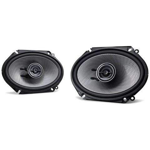 "Kenwood KFC-D681C, Dynamic Series 6x8"" 2-Way Coaxial Full Range Car Speakers, 360W"