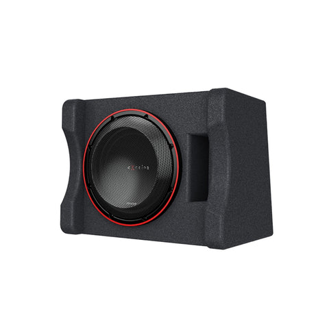 "Kenwood P-XW1221SHP, eXcelon Single 12"" 2 Ohm Loaded High Power Subwoofer Enclosure - 2000W"