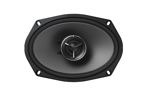 "Kenwood KFC-X694, eXcelon 6x9"" 2-Way Coaxial Car Speakers, 300W"