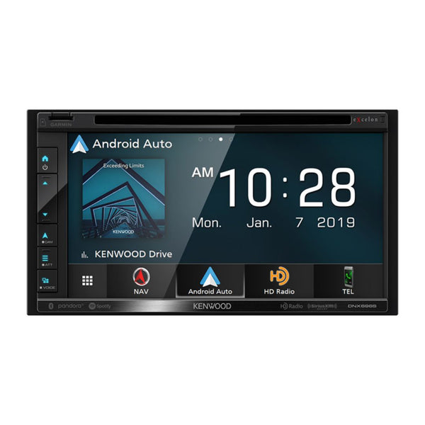 "Kenwood DNX696S, eXcelon 6.8"" Navigation/DVD Receiver w/ CarPlay and Android Auto"