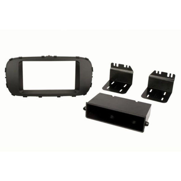 Scosche KA2417B, 2014-Up Kia Soul ISO Double DIN & DIN+Pocket Kit