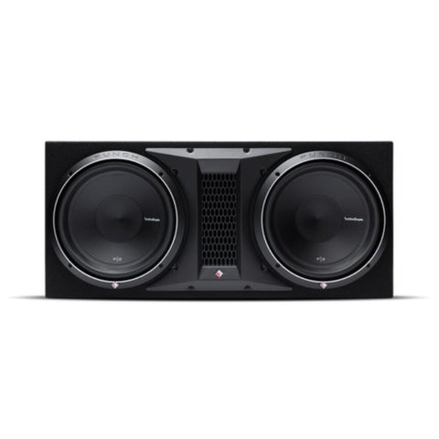 "Rockford Fosgate P2-2X12, Punch Dual 12"" Ported Loaded Enclosure, 800 Watts RMS"